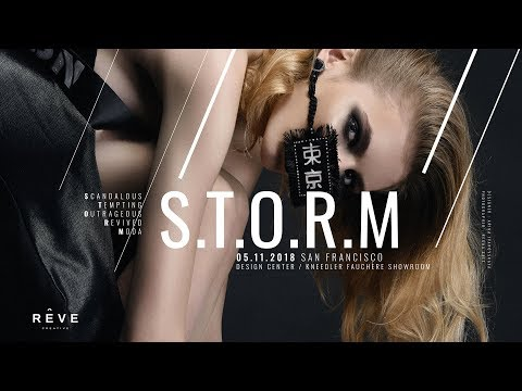 S.T.O.R.M. Fashion Installation by REVE Creative - Live from San Francisco