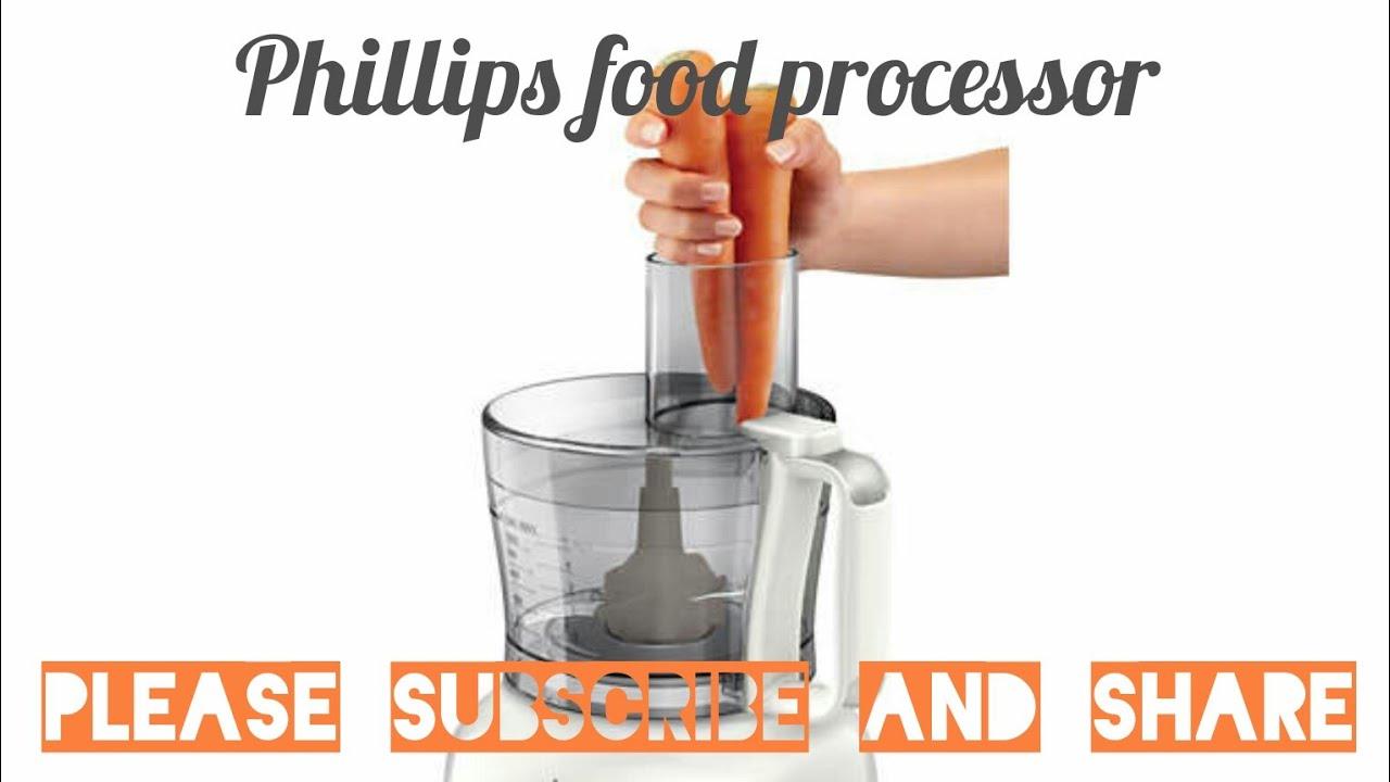 Cara Menggunakan Food Processor Philips Youtube