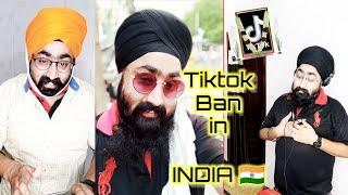 Tiktok Ban    Tiktoker    #tiktokindia #theparmeet13    Fatherson Comedy    Funny Vines   