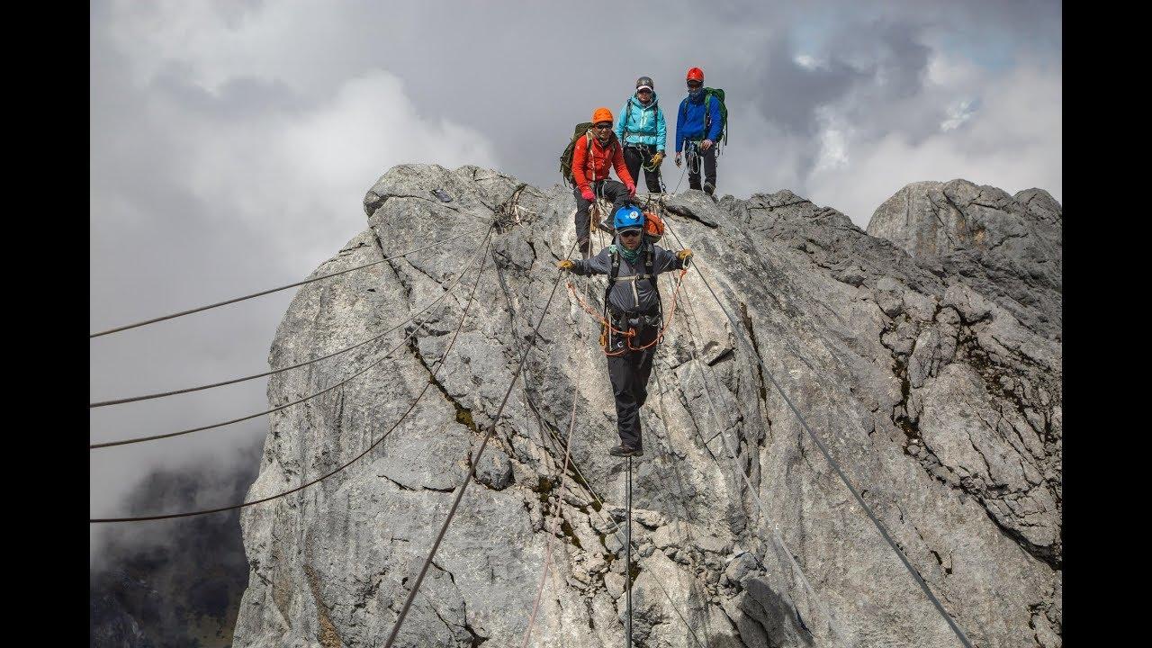 Nowclimbing Carstensz Pyramid Indonesia S Tallest Peak Youtube