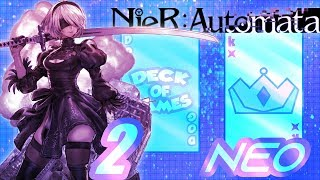 Ending F - Giant Enemy [F]actory | Nier Automata: Neo Deck of Games - Part 2