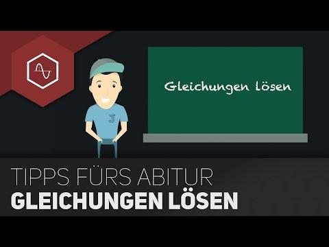 Gleichungen lösen im Abi - Alle Verfahren im Überblick! ● Gehe auf SIMPLECLUB.DE/GO from YouTube · Duration:  8 minutes 41 seconds