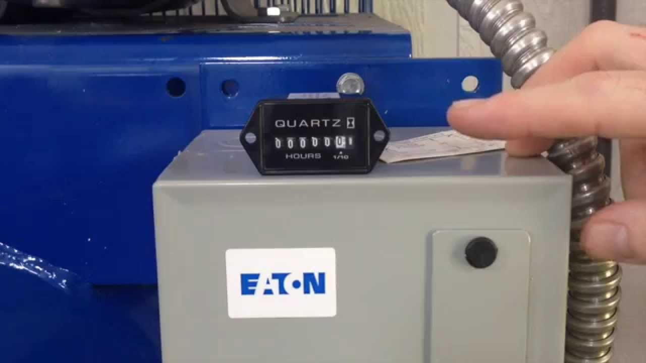 medium resolution of fitting a hobbs meter to a compressor