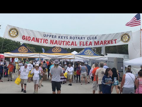 Florida Keys Nautical Flea Market (2019) Quick Vlog