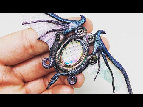 Creiamo con il fimo - Incredibili Gioielli Magici e incantati ispirati ai draghi