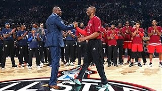 Kobe Bryant Tribute Before Final All-Star Game