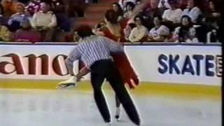 Duchesnay & Duchesnay (FRA) - 1990 World Figure Skating Championships, Free Dance