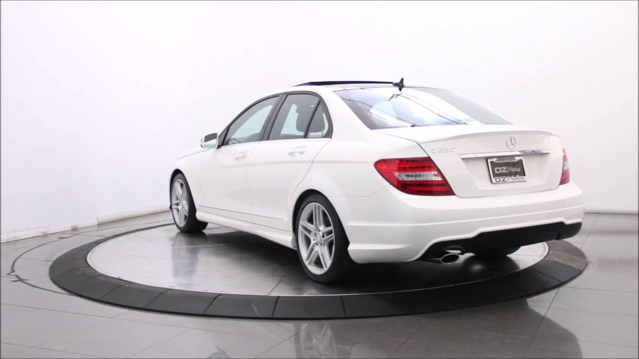 2014 mercedes benz c250 amg sport sedan youtube. Black Bedroom Furniture Sets. Home Design Ideas