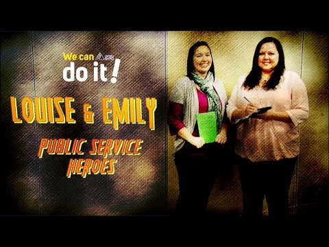 Public Service Heroes - Louise & Emily