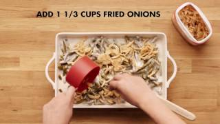 Holiday Favorites with a Twist: Green Bean Casserole 4 Ways
