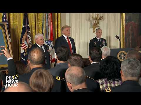 WATCH: President Trump awards Medal of Honor to Vietnam War veteran