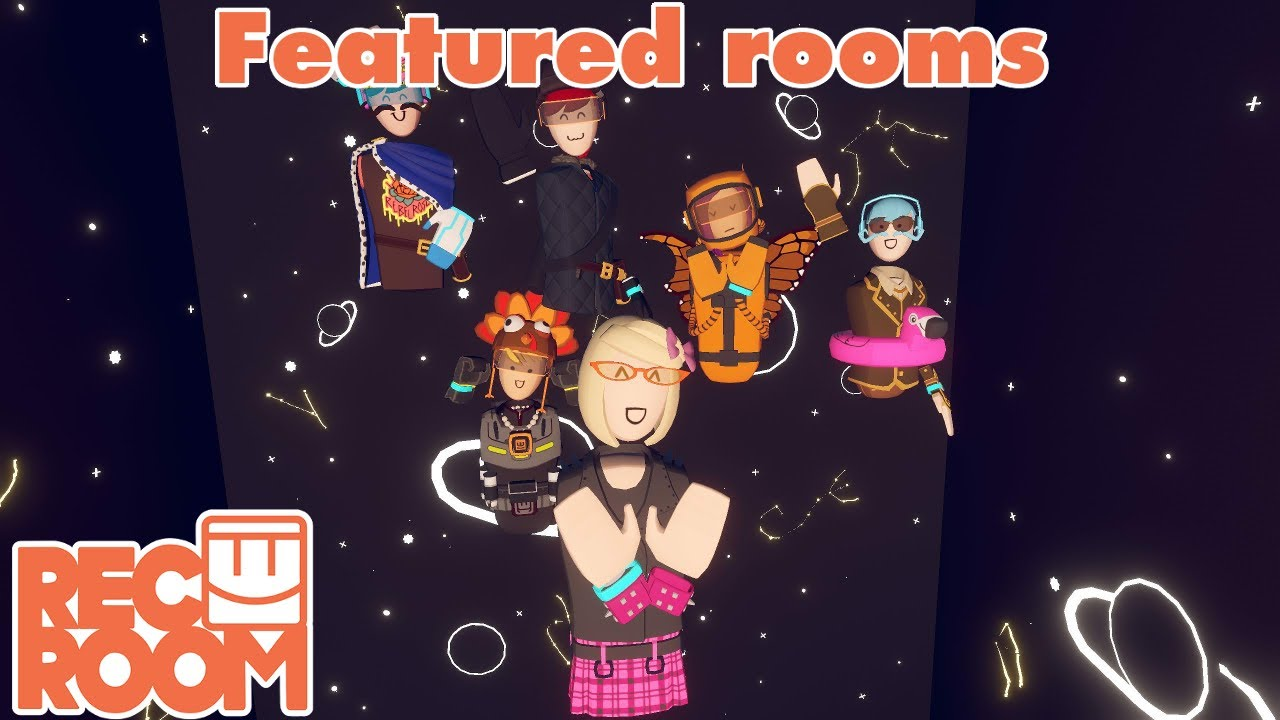 Rec Room - Featured Rooms (Community Builds) - Week of August 11th