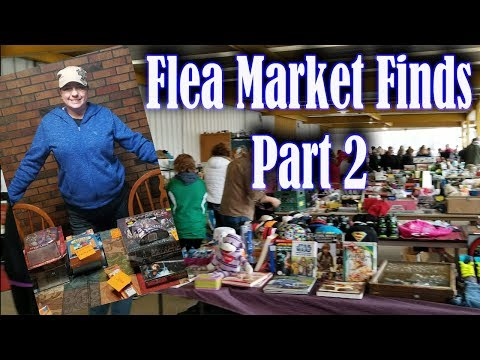 Flea Market Finds & Haul Paid $213.25 Part 2 Results Searching Items to Resell & Haggling 4 Bargains