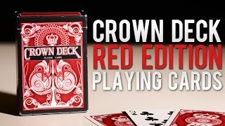 Deck Review - The Crown Deck Red Playing Cards