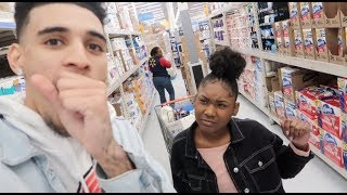 """CALLING HER """"ANOTHER GIRLS NAME PRANK"""" IN PUBLIC!!!"""
