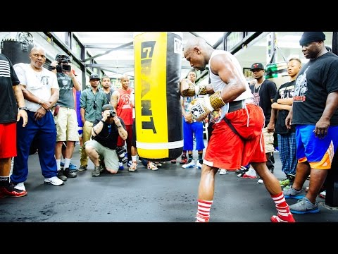 Floyd Mayweather: Open Workout | Wednesday, August 26