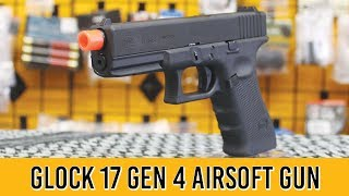 Elite Force Glock 17 Gen 4 Airsoft Pistol Review