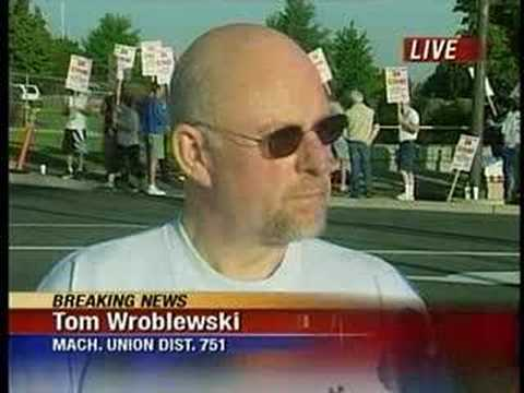 Triumph Machinists Strike