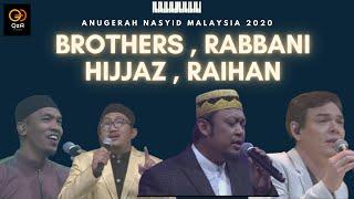 Download 4 Kumpulan Lagenda Nasyid Bergabung ! Brothers , Rabbani , Hijjaz Dan Raihan . Terbaik ANM2020 !