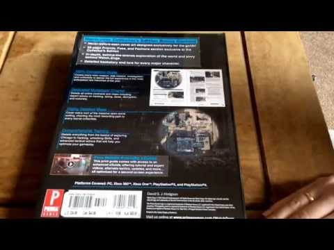 Watch Dogs  Deluxe Edition Unboxing