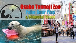 Osaka Tennoji Zoo and Shinsekai 2018 - Family Fun Travel [4K]