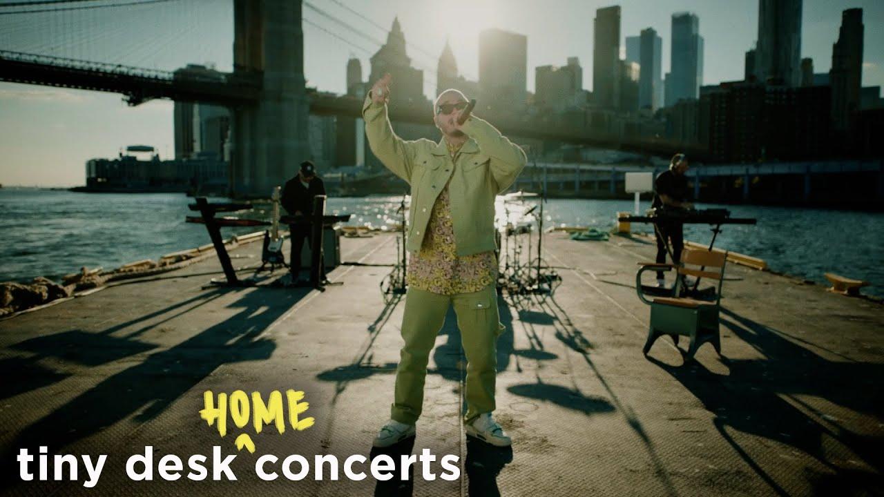Download J Balvin: Tiny Desk (Home) Concert