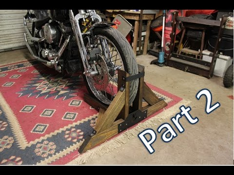 Homemade Motorcycle Stand Part 2
