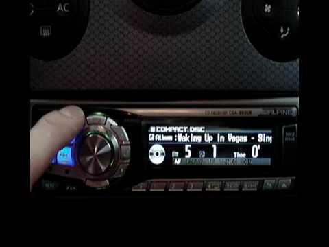 Alpine CDA 9835 CD/MP3 Radio