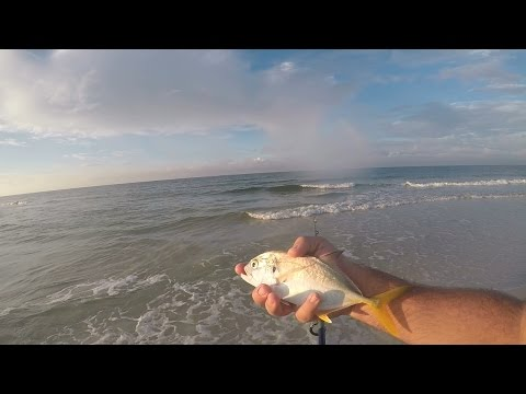 Surf Fishing - Panama City Beach, Florida (1080p)