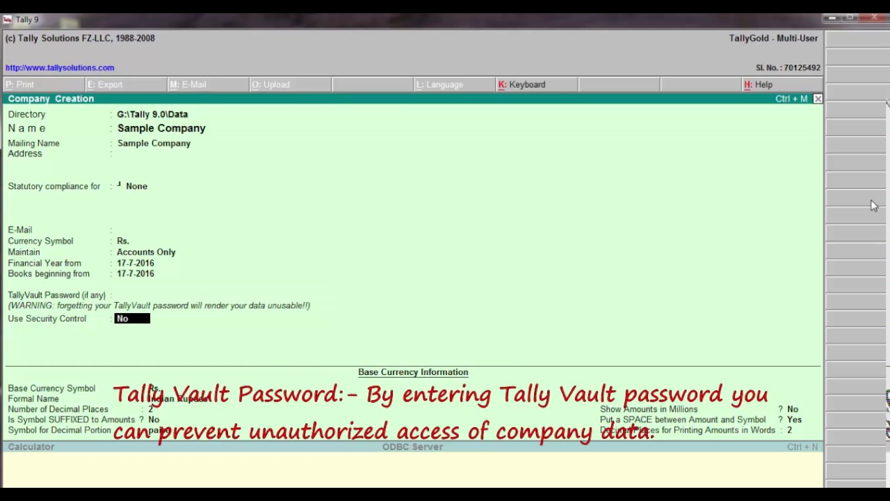 Free Tally 9.0 Software Download