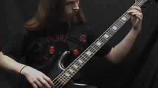Cannibal Corpse- Addicted to Vaginal Skin on bass guitar