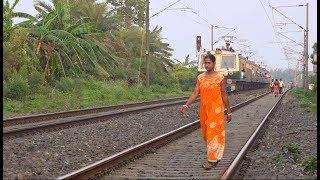 Katwa Local    12 Coaches Emu Local Train between Katwa to Howrah    Indian Railway