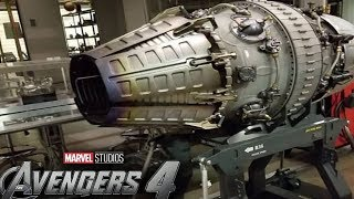 Avengers 4 PROTON CANNON CONFIRMED - Iron Man and War Machine - New Weapon
