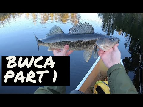 Boundary Waters Fishing: Walleye Paradise - Part 1 -