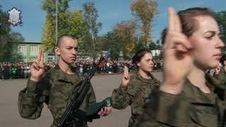 Pełna relacja z uroczystej przysięgi wojskowej podchorążych pierwsz...