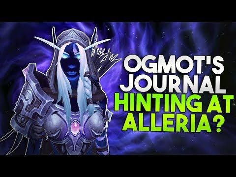 Will Alleria Be Our New Illidan? + A Glance At Bolvar! Void Journal Updates [7.3.5 PTR]