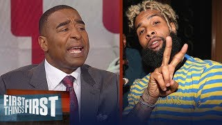 Cris Carter reveals two teams Odell Beckham Jr. is likely to leave Giants for | FIRST THINGS FIRST