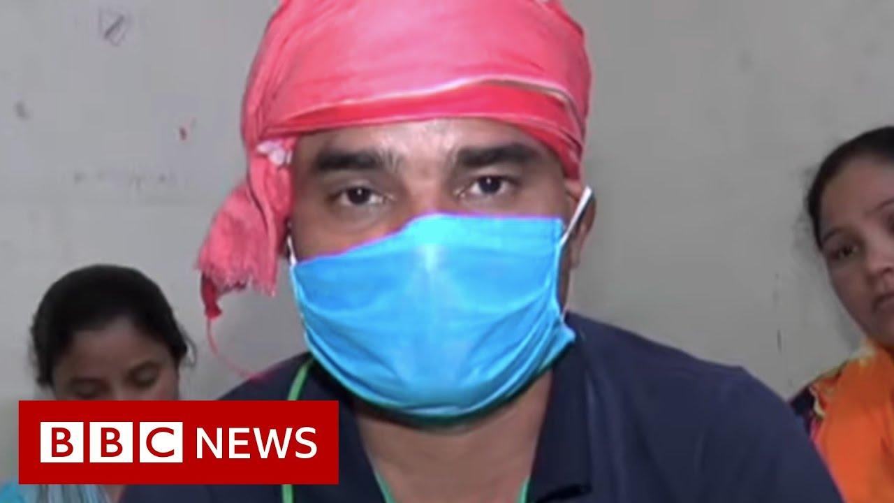Coronavirus: Overwhelmed India hospitals turn Covid patients away - BBC News