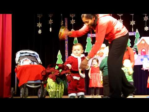 Hunter's 1st Holiday Performance - Serrano Heights Academy