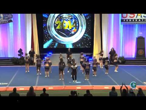 Maryland Twisters Eclipse Worlds 2014 Senior Small Coed A Prelims