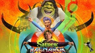 Shrek Ragnarok - Thor Ragnarok Official Trailer Style