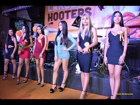 Hooters Of Pattaya Thailand 3rd Anniversary Celebration Part 1