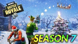 FORTNITE SNOWSTORM IS RIGHT NOW / ZIPLINES ARE HERE! SEASON 7 BATTLE PASS GIVEAWAY!!