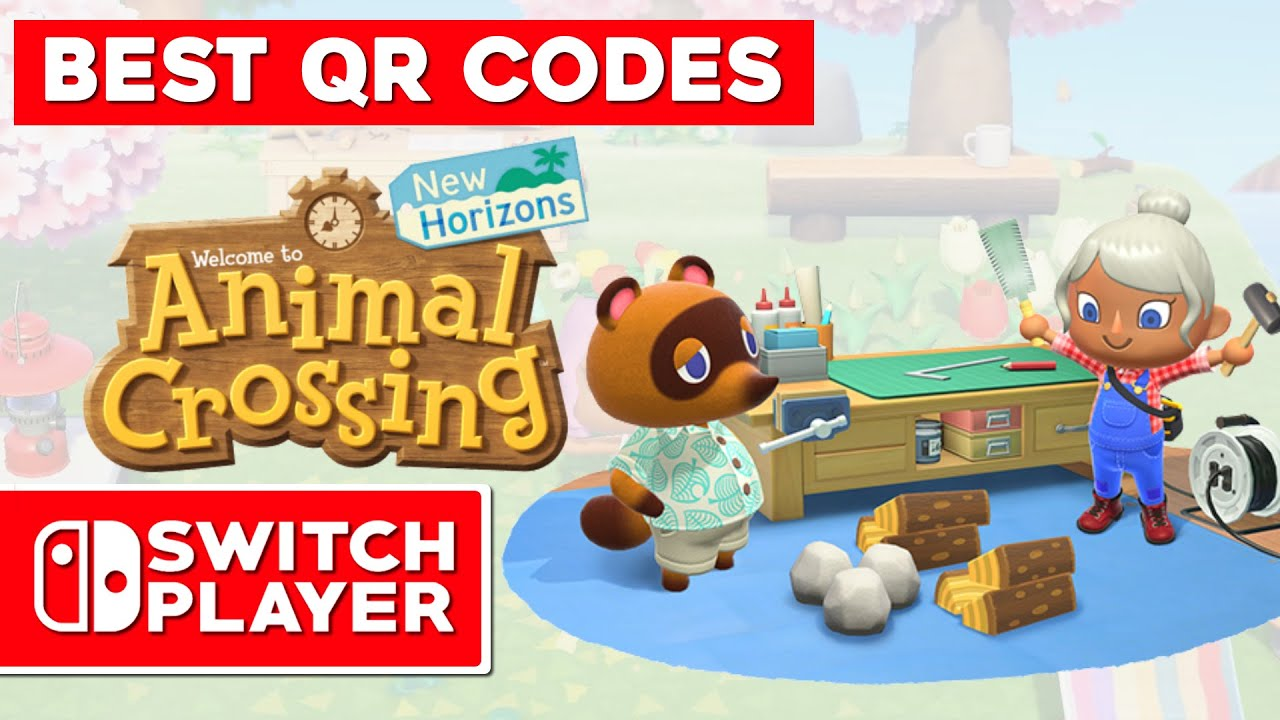 animal crossing new horizons wallpaper qr codes