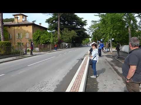 Vallteri Bottas in Faenza with F1 car
