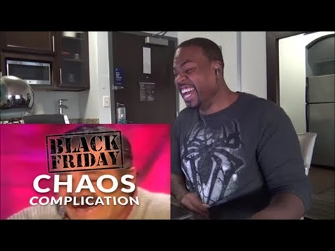 Black Friday Shopping Chaos Compilation 2018 - REACTION!!!