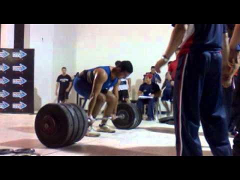 Peso Muerto 215kg Daniel Benitez