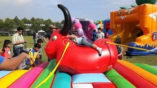Kanzler Marsekal plays cowboy at MAZ Carnival