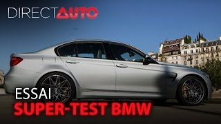 Essai - SUPER-TEST BMW