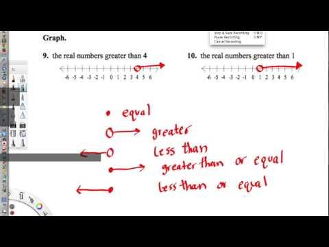 Real Number Line Worksheet
